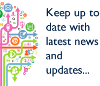 Keep up to date with latest news and updates...